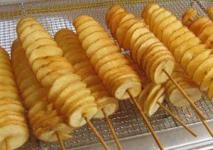 çubukta patates