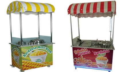 bardak mısır arabası