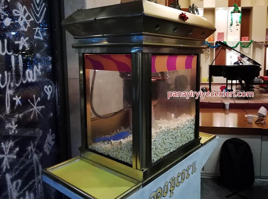 kiralık patlamış mısır makinası