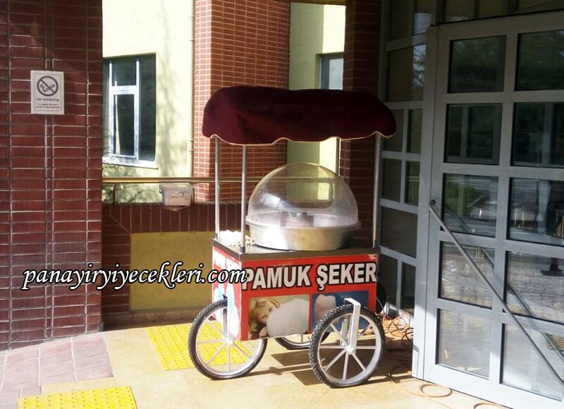 pamuk şekeri makinası kiralamak
