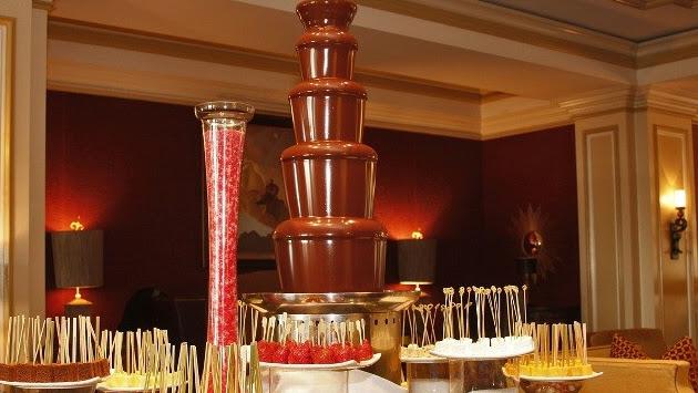 Çikolata Şelalesi Kiralama