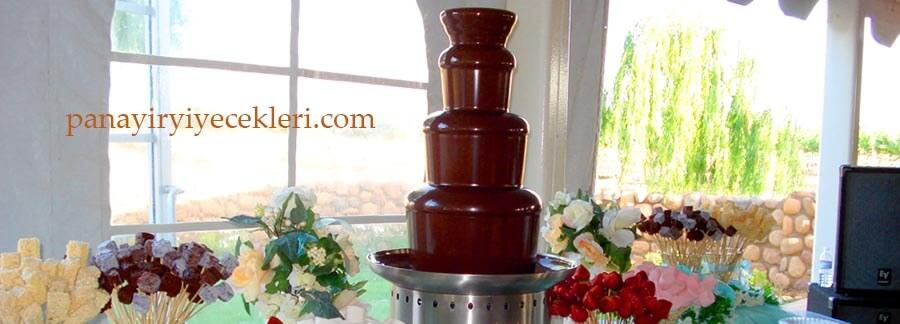 çikolata şelalesi makinesi kiralama fiyatı