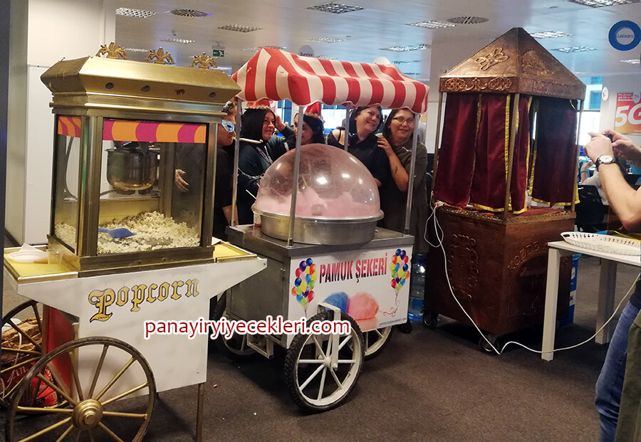 kiralık pamuk şeker makinası