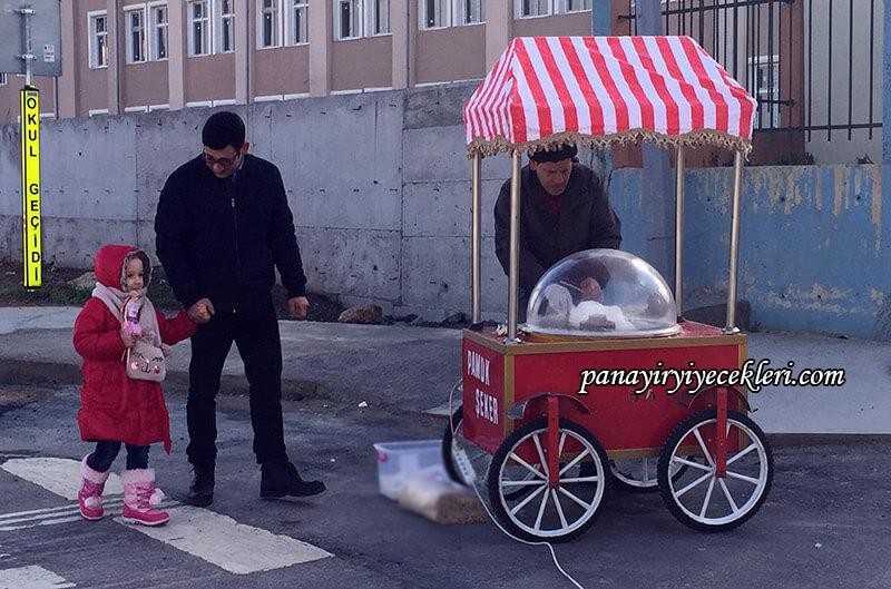kertenkele dizisinde pamuk şeker arabası