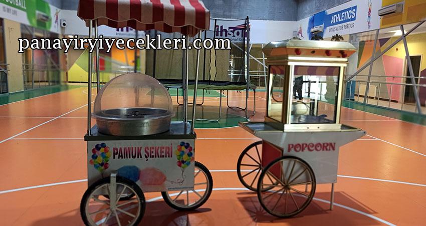 pamuk şekerci kiralama istanbul fiyatları