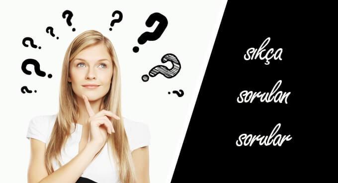 sıkça yöneltilen sorular