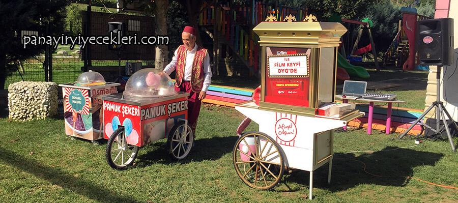 kiralık pamuk şekerci servisleri