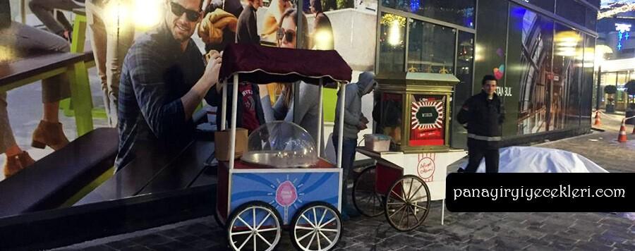 İstanbul'da pamuk şeker arabası fiyatı