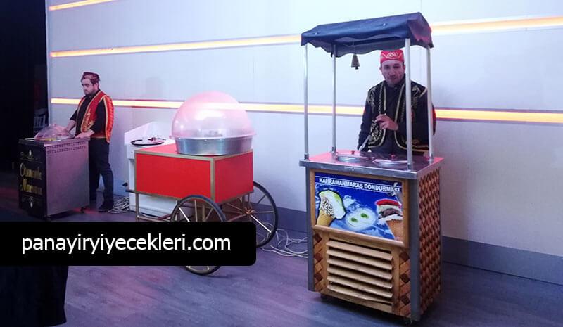 maraş dondurmacısı kiralama organizasyonu
