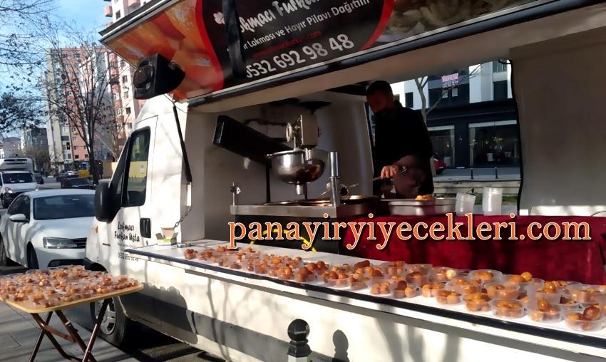 lokma arabası kiralama İstanbul