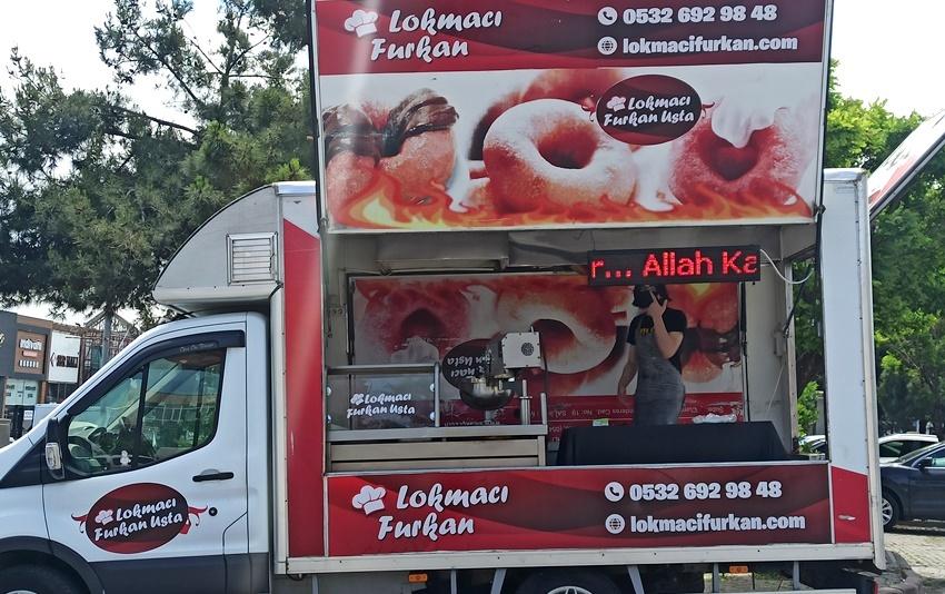 İstanbul Lokma Dökme arabaları