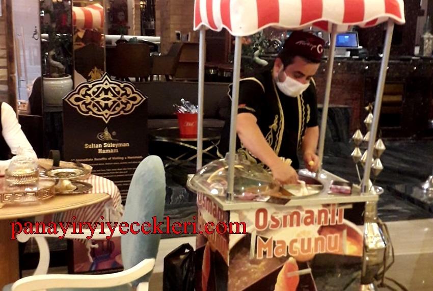 osmanlı macunu dağıtımı ve imalat