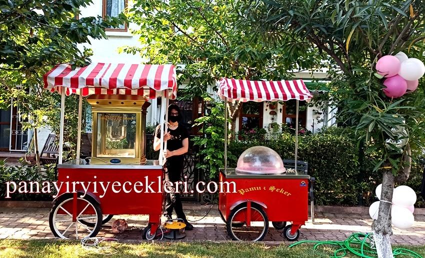 Pamuk Şeker Arabası Kiralama İstanbul